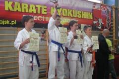XII Mistrzostwa Województwa Podkarpackiego Karate Kyokushin Dzieci i Młodzieży w Nowej Sarzynie